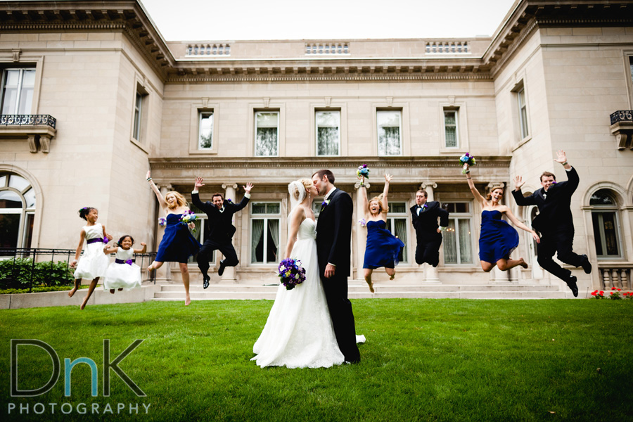 Gale Mansion Wedding Bridal Party