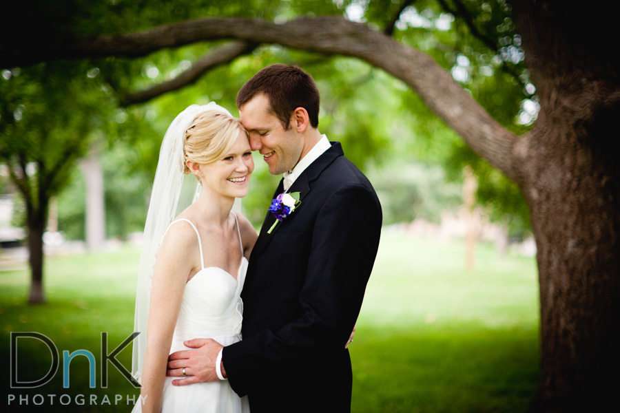Outdoor Bride and Groom Pictures