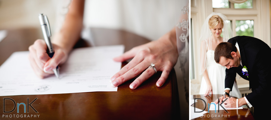 Signing Wedding