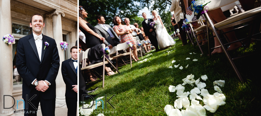 Wedding Ceremony at the Gale Mansion