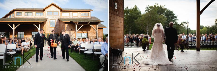 Matt And Jess Wedding At The Refuge Golf Club Dnk