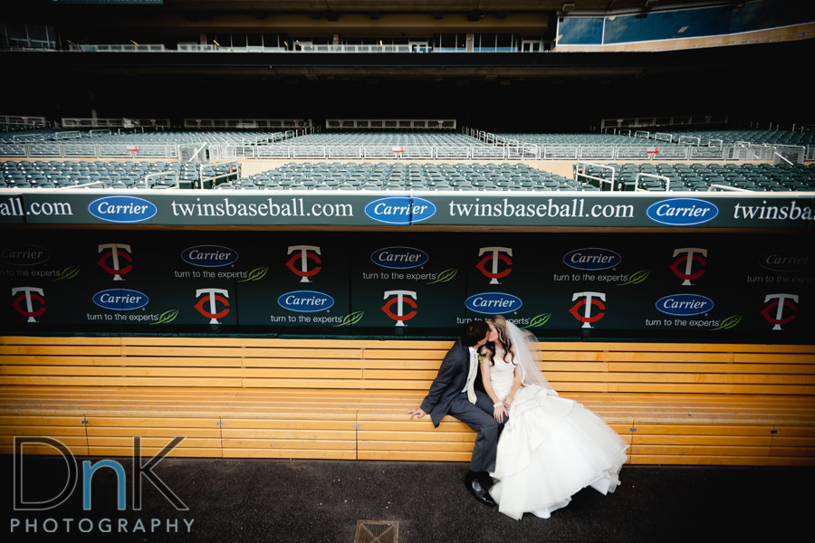 Wedding At Target Field