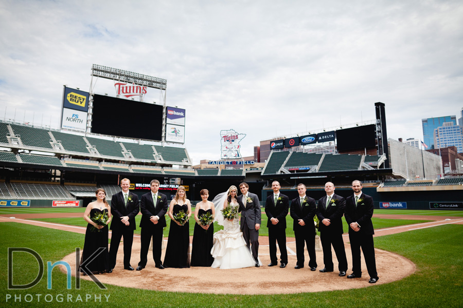 Wedding At Twins Stadium