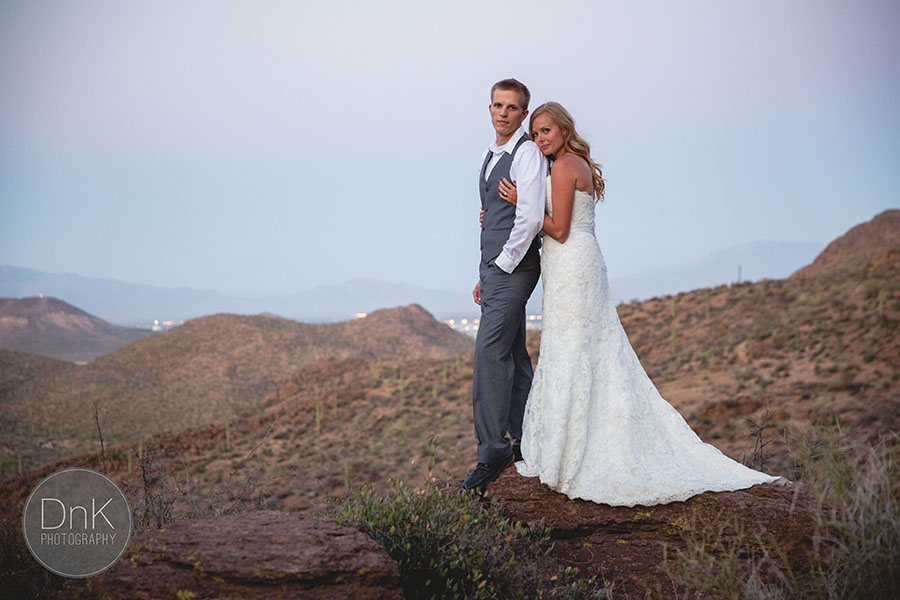 13-Tucson Mountain Bridal Session