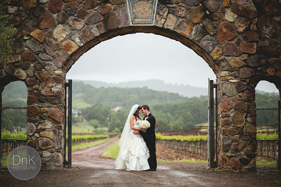 Sonoma California Vineyard Wedding Dnk Photography