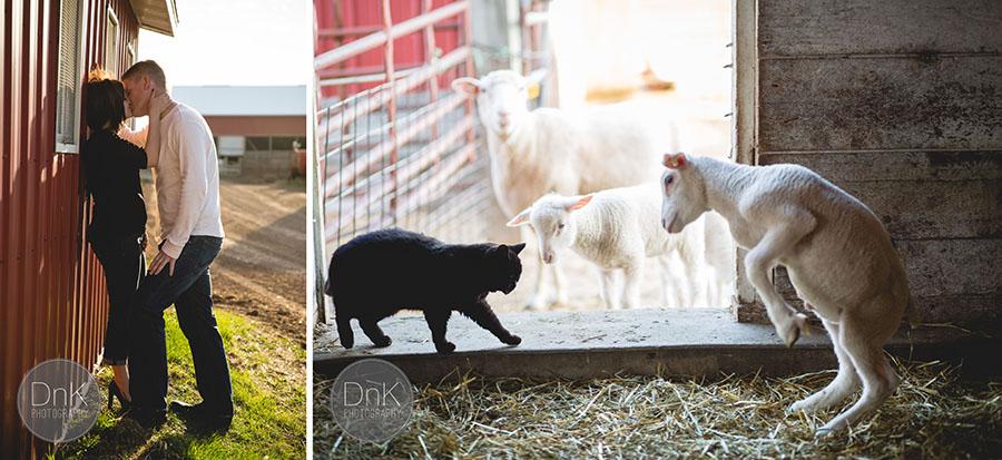 10-cute minnesota farm engagement session