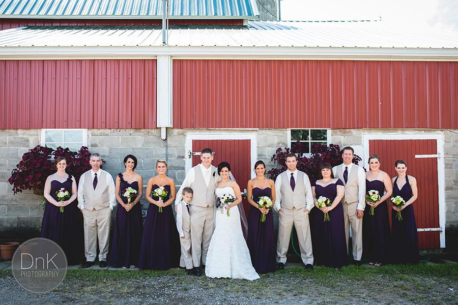 10_Liz and Glenn Minnesota Barn Wedding