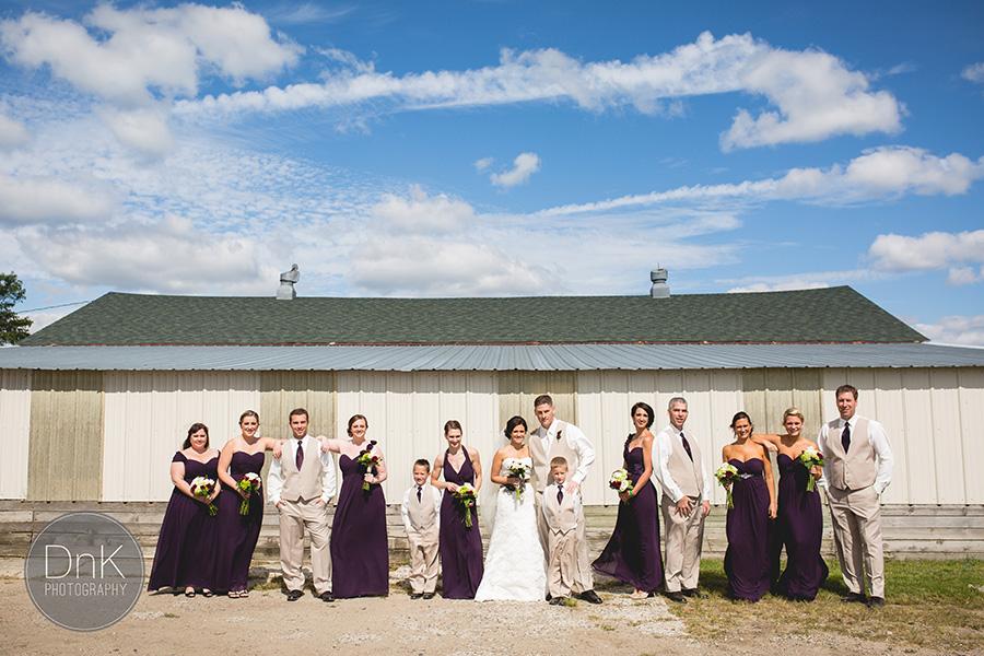 14_Liz and Glenn Minnesota Barn Wedding