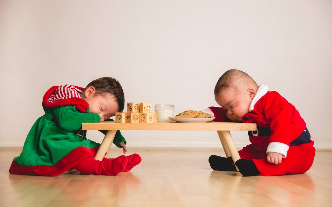 Santa and His Elf are Tired – Throw Back Thursday