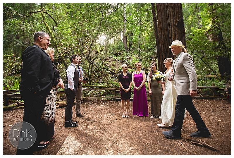 0009- Elopement Wedding Redwoods