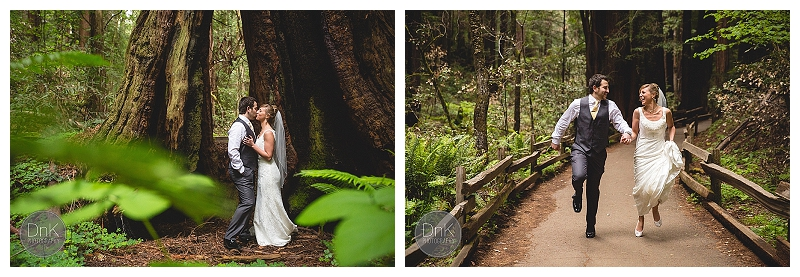 0018- Elopement Wedding Muir Woods California