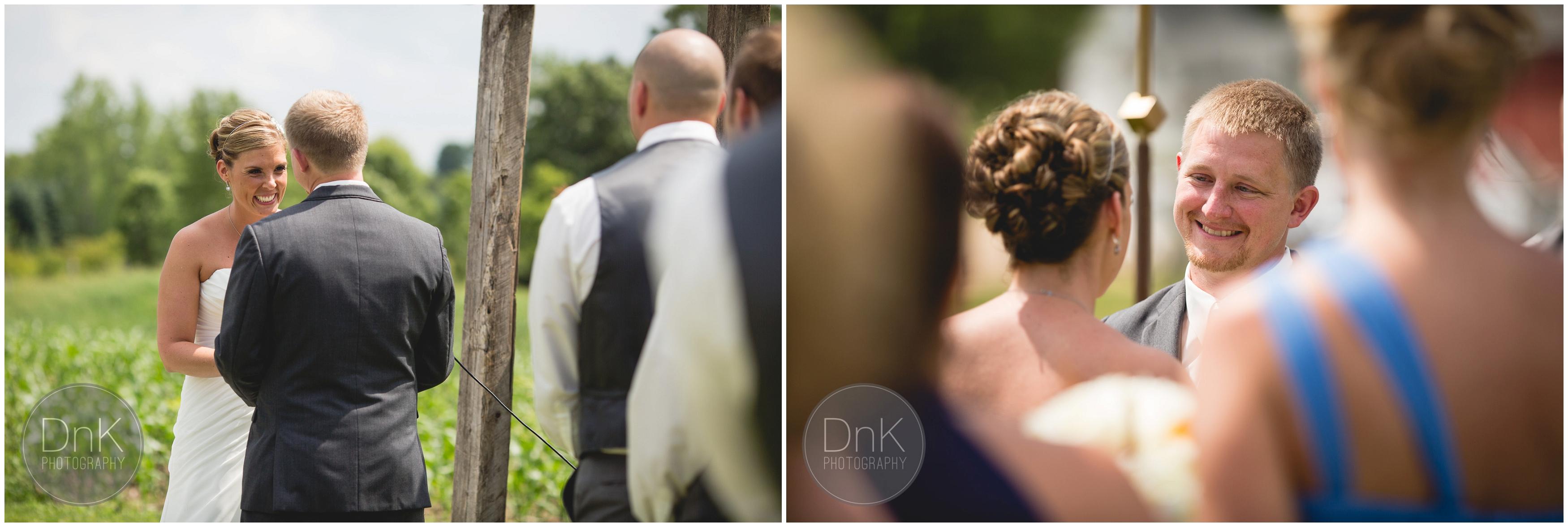 22- Outdoor Wedding Ceremony Dellwood Barn