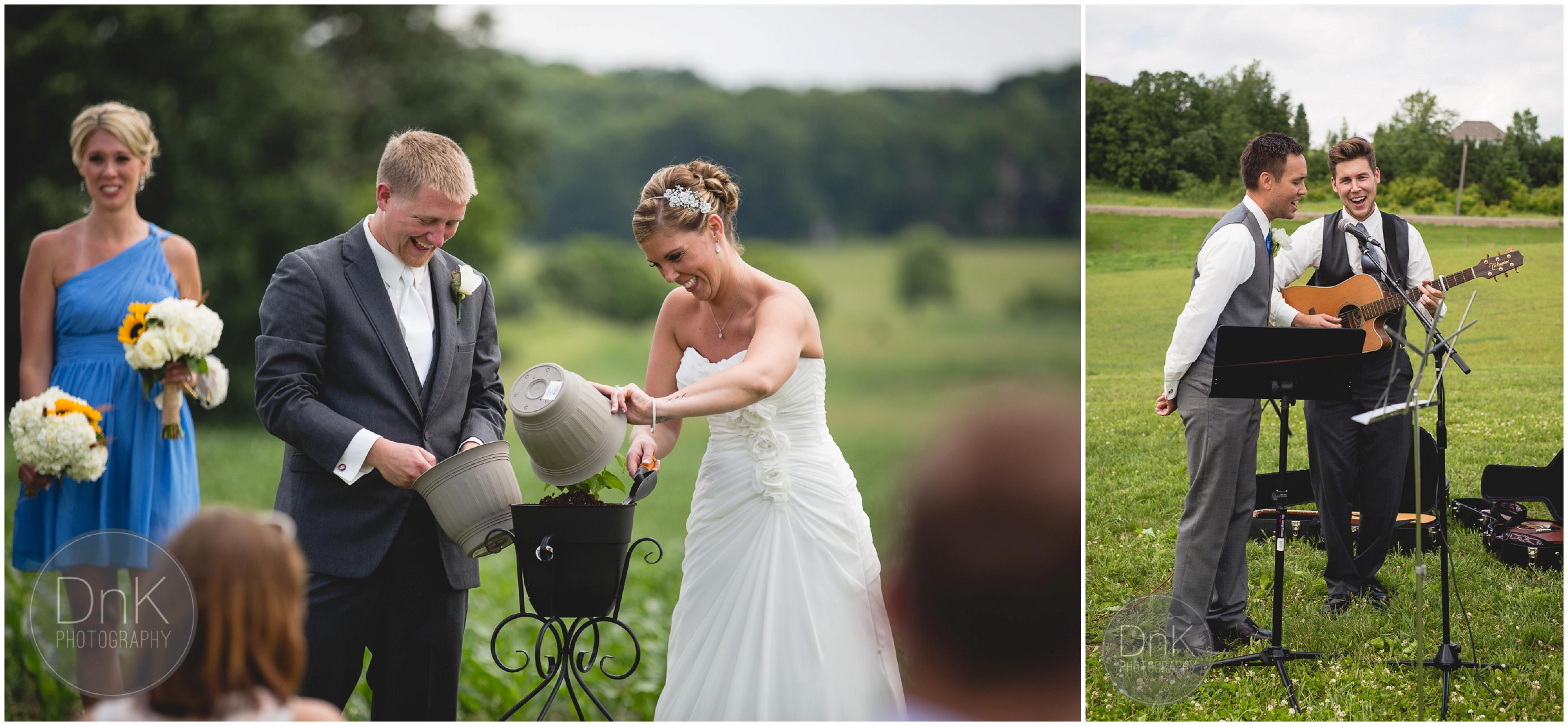 23- Outdoor Wedding Ceremony Dellwood Barn