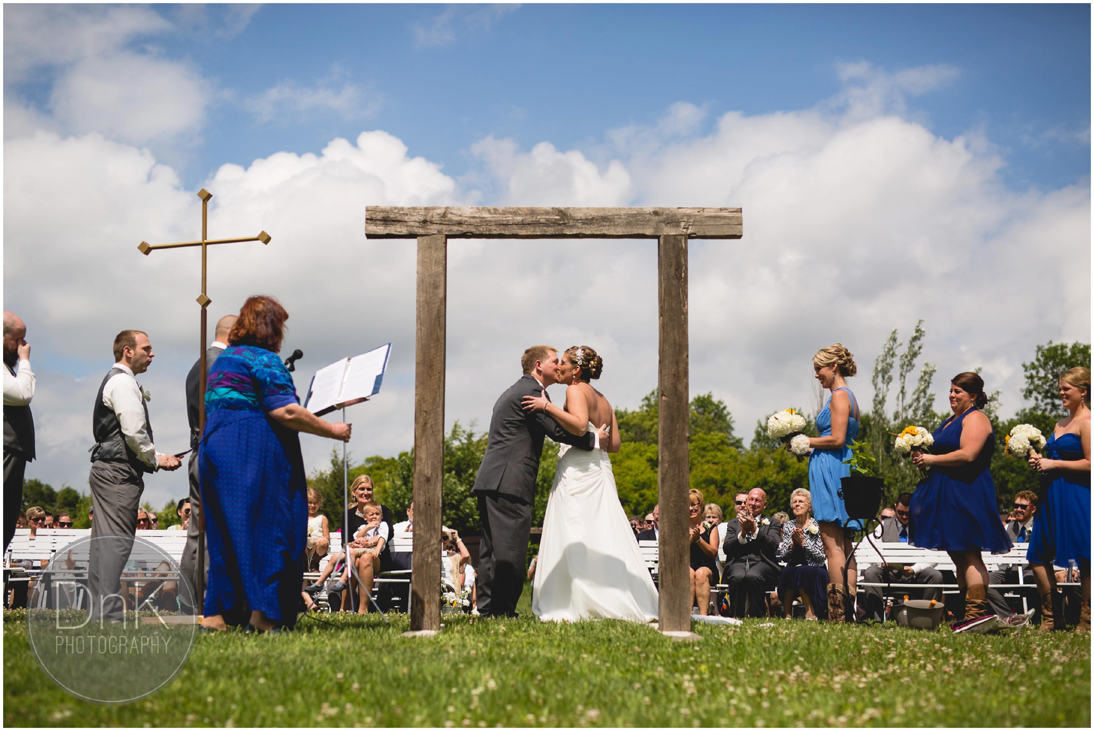 25- Outdoor Wedding Ceremony Dellwood Barn Minneapolis Wedding Photography