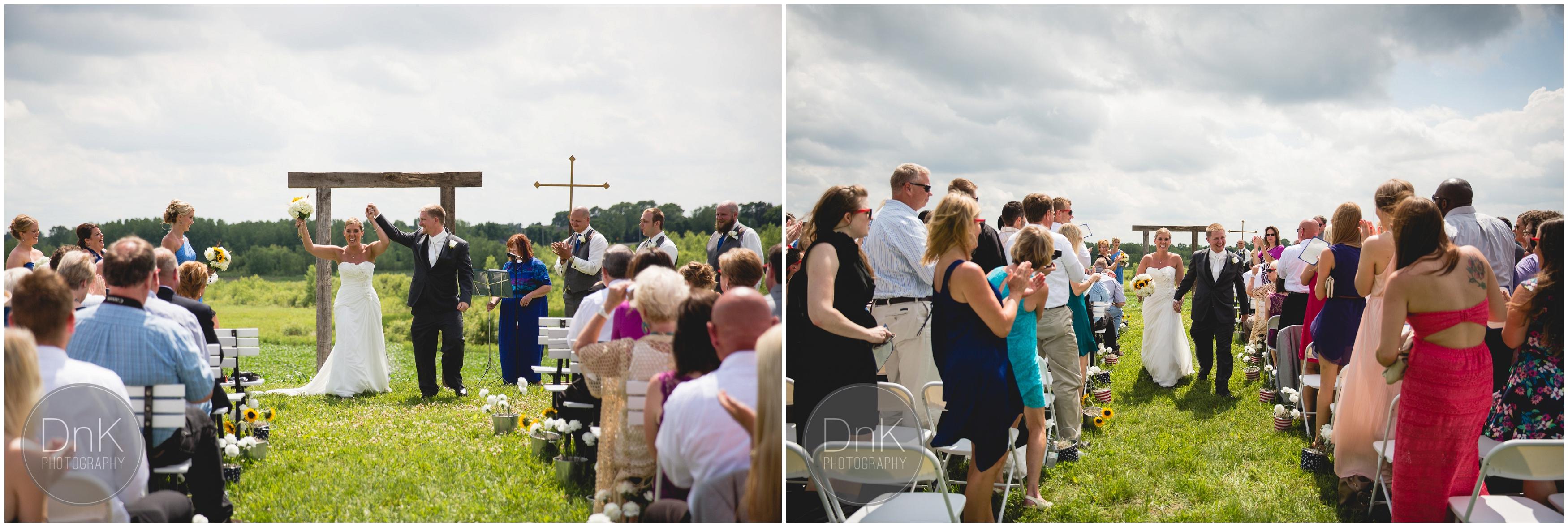 26- Outdoor Wedding Ceremony Dellwood Barn