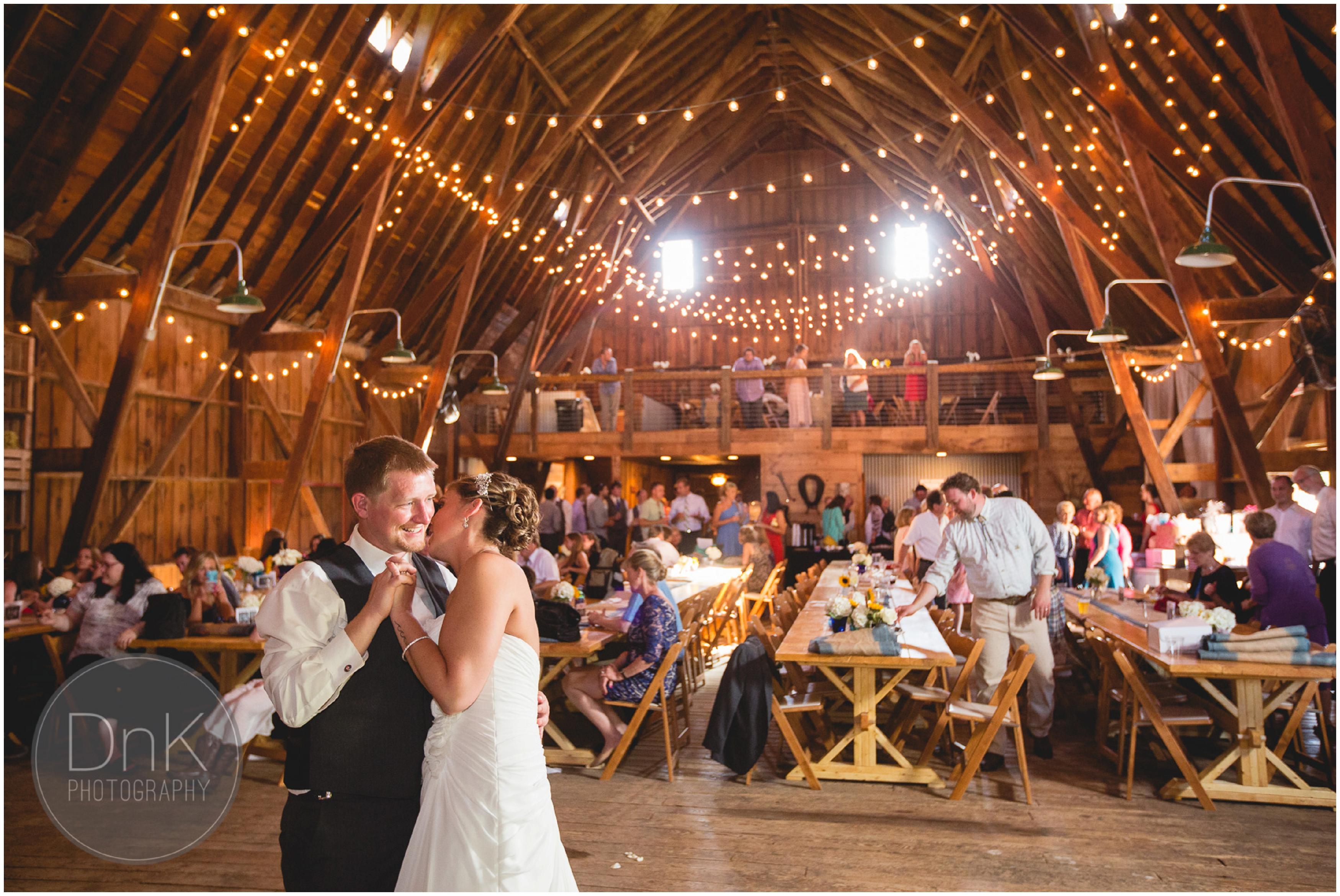 32- Dellwood Barn Wedding Reception