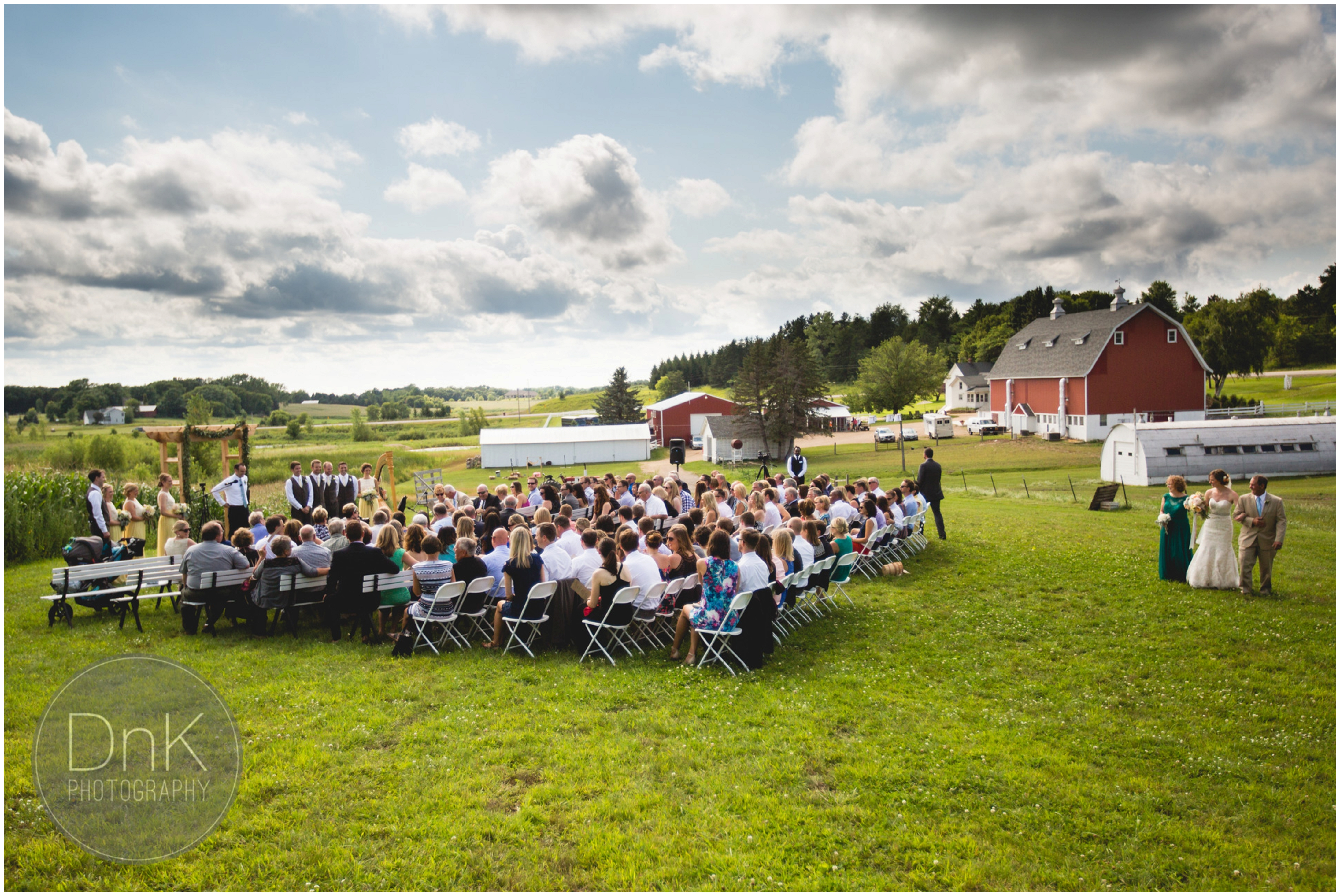 22 - Dellwood Barn Wedding Ceremony