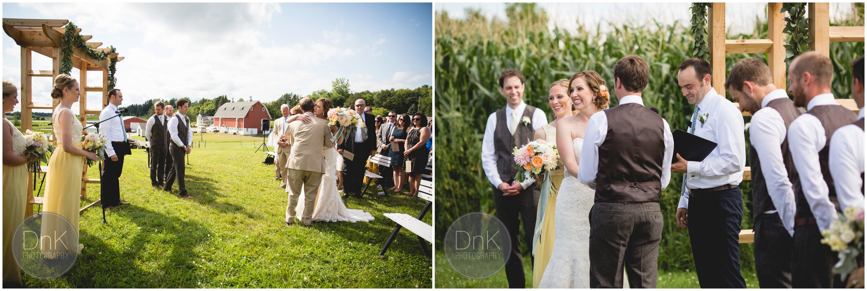 25 - Dellwood Barn Wedding Ceremony