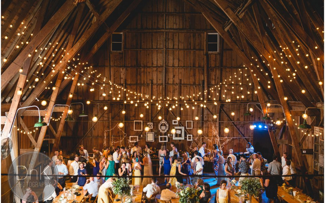J&B's Wedding at Dellwood Barn