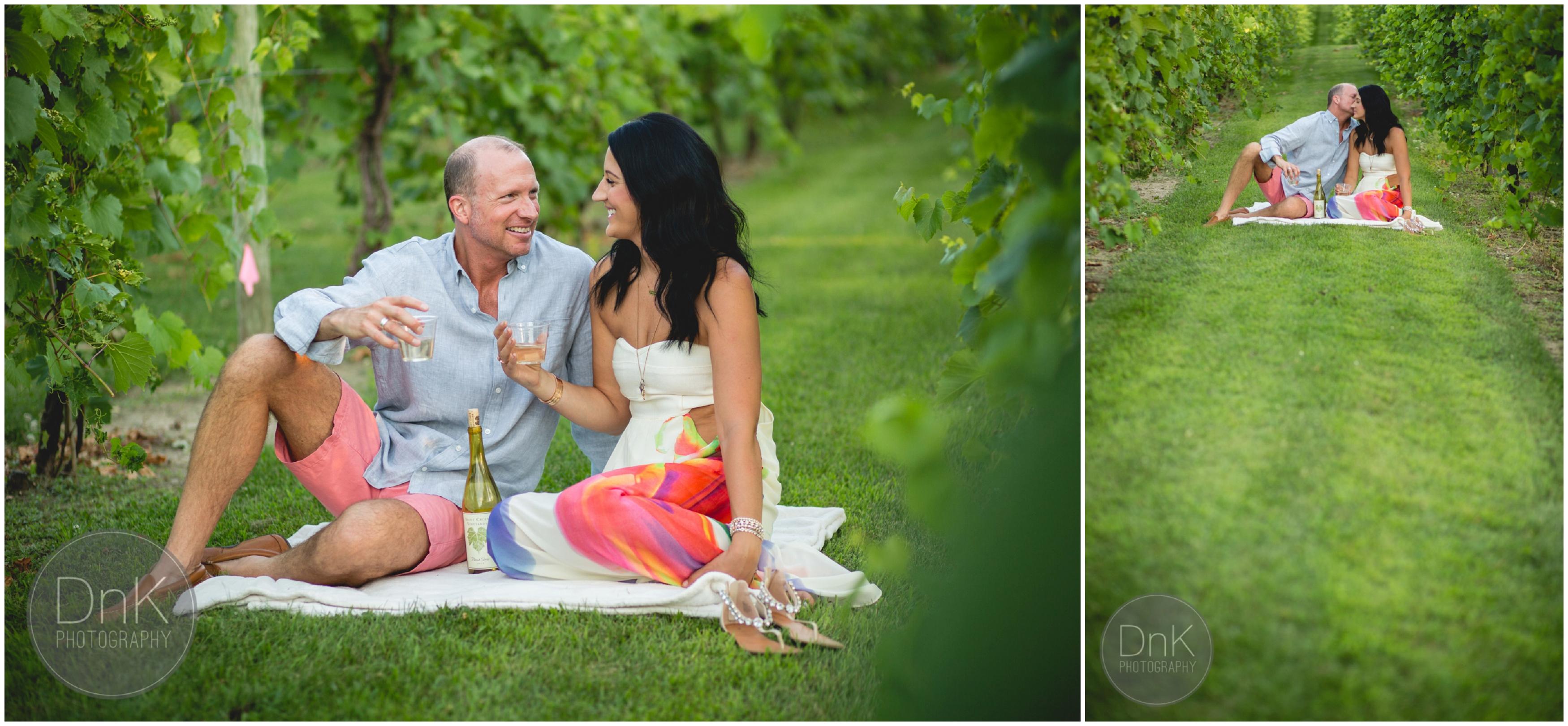 64- Vineyard Engagement Pictures Minneapolis