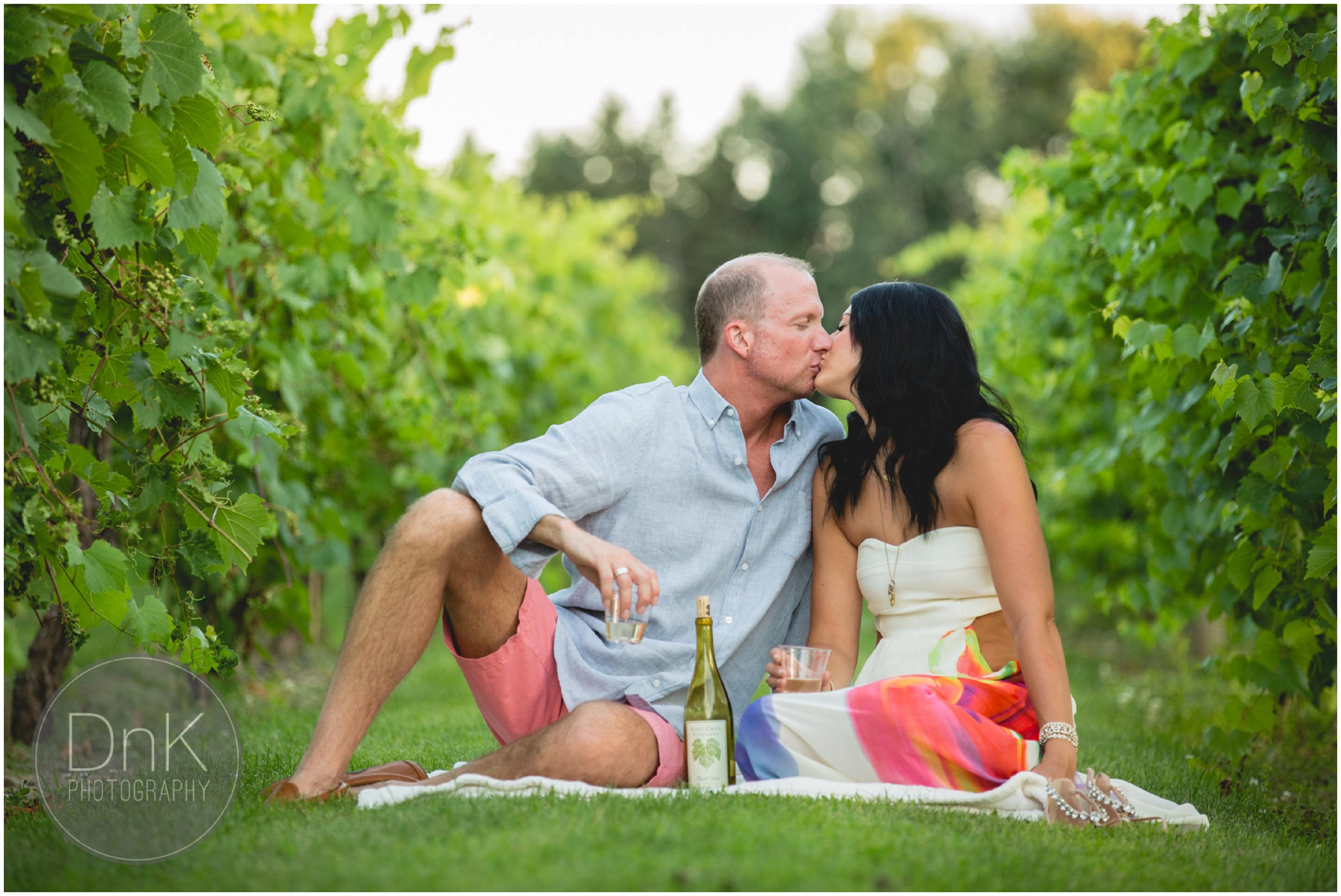 65- Vineyard Engagement Pictures Minneapolis