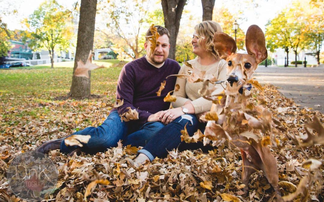 Louie & the epic engagement photo-bomb